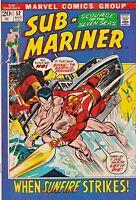 SUB-MARINER#52 VF 1972 MARVEL BRONZE AGE COMICS