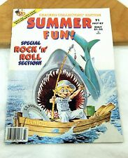 Cracked Magazine Collectors' Edition July 1987 Summer Fun Vacation