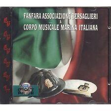 FANFARA ASSOCIAZIONE BERSAGLIERI & CORPO MUSICALE MARINA ITALIANA CD NUOVO