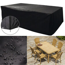 Large Waterproof Furniture Cover Outdoor Garden Patio Bench Table Rain Protect A