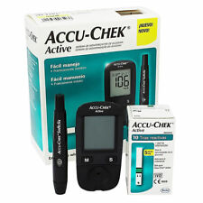 Accu Chek Active Diabetes Monitor with 60 Free Test Strips Glucometer