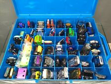 Hot Wheels Corgi Lot Of 55 Cars Trucks A Team Bond Marvel Batman & More In Case