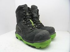 DUNLOP Men's 8'' Composite Toe Composite Plate Leather Work Boot DLNA16100 11M