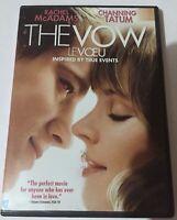 THE VOW DVD 2012 CANADIAN WIDESCREEN RACHEL MCADAMS CHANNING TATUM