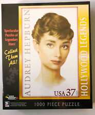 White Mountain Puzzles Audrey Hepburn 1000 Pieces Puzzle New Sealed