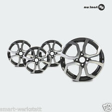 """Alloy Wheels for Smart Fortwo Forfour C453 W453 Decent TS Dark 15 """""""