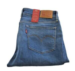 Levis Jeans Damen 714 Straight Mid Rise W25 L34 21834-0060