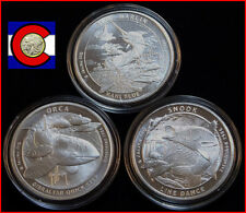 2015 & 2016 Guy Harvey Silver Rounds - Blue Marlin, Snook, Orca - in airtites