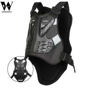 Motorcycle Vest Chest Back Protector Motocross Racing Jacket Body BMX Bike Guard