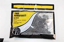 OO HO Scale Woodland Scenics 70 6.4-10.2cm pine tree Armatures TR1124 FNQHobbys