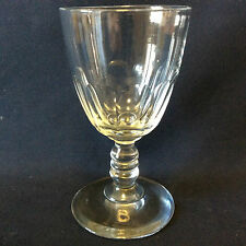 BACCARAT H 10,8cm verre cristal Gondole Médicis taille côtes plates fin XIXe
