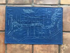RARE Early Circa 1920's Palo Alto California Development Map