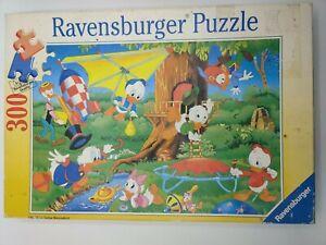 Vintage Ravensburger Disney Duck Tales Scrooge McDuck 300 Pc. Puzzle COMPLETE