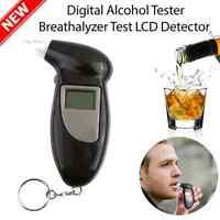 LCD Digital Police Alcohol Tester Breath Breathalyzer Test Analyzer Detector SY