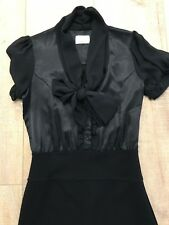 REVIEW BLACK DRESS SIZE 8 WORK / OFFICE / CORPORATE / EVENING / COCKTAIL