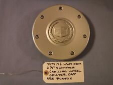 """One Only 9594176 Cadillac 6 1/2"""" + Diameter Wheel Center Cap Used OEM ABS"""