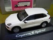 1/43 Minichamps Porsche Cayenne S hybrid weiss 020 00 40B SONDERPREIS
