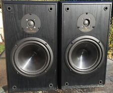 VINTAGE INFINITY REFERENCE TWO 2 way BOOKSHELF or STANDMOUNT SPEAKERS w/ COVERS