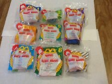 1996 McDonalds Happy Meal Marvel toys - set of 8 toys - all MIP + 1 bonus toy**