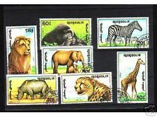 1016++MONGOLIE   SERIE TIMBRES  ANIMAUX SAUVAGES  N°1