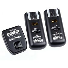 YONGNUO RF-602 2.4GHz Wireless Remote Flash Trigger+ 2 * Receiver f Canon Camera