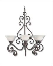"Savoy House  Helena  Chandelier Rustic Bronze Finish 513-6-72  29""D 6LT"