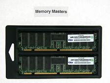 AR128V72N4SMGAS 2GB 2X1GB PC133 ECC Registered CL3 168-Pin DIMM SERVER Memory