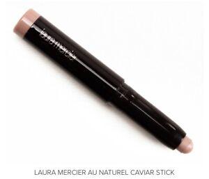 LAURA MERCIER Caviar Stick Eye Shadow •Au Naturel• Mini Size 0.03 oz./1g -No Box