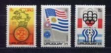 s5468) URUGUAY 1975 MNH** World Cup Football - Coppa del Mondo Calcio 3v.