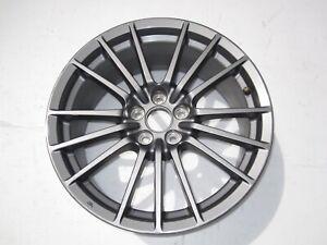 10-2014 SUBARU IMPREZA WRX Wheel 17x8 Alloy 15 Spoke Gun Metal Gray OEM RIM
