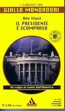 Il presidente è scomparso REX STOUT I Classici del Giallo Mondadori