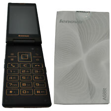 New Lenovo A588T 4GB Dual-SIM Factory Unlocked Flip Phone Android 3G 2G OEM