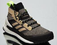 adidas Terrex Free Hiker Savannah Core Black Signal Green Men's Hiking Shoes