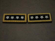 Union 4 Star General Shoulder Boards