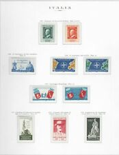 s25610) ITALIA MNH**1959 Complete Year set 29v Annata Completa 3 scans