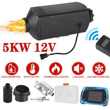 12V 5Kw/5000W Air Diesel Heater Lcd Thermostat Switch Remote For Car Truck Boat
