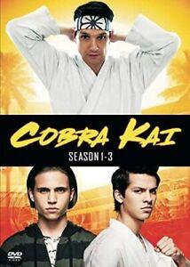 Cobra Kai - The Complete Seasons 1-3 (DVD)  Brand New & Sealed - Region1/4