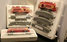 Bachmann Hawthorn Village McDonald's HO Train Set 1950, 1970, 2000 w/track
