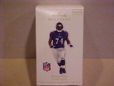 NIB 2012 Michael Oher Baltimore Ravens BLINDSIDE Christmas Ornament !!