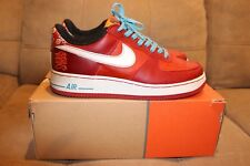 2005 NIKE AIR FORCE 1 PREMIUM YEAR OF THE DOG YOTD US 8.5 9 STASH RARE AUTHENTIC