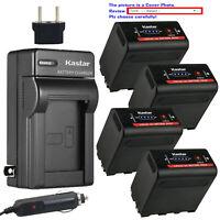 Kastar Battery AC Travel Charger for Atomos NP-F970 F960 Atomos Shogun Battery