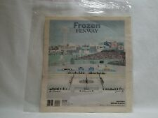 Frozen Fenway Bostons Globe Winter Classic Newspaper Collectible Souvenir 2009