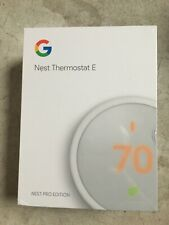 Nest T4001ES Learning Professional Version Thermostat E Wi-Fi White