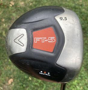 Callaway FT-5 Driver Golf Club Fujikura Graphite Shaft S-Flex