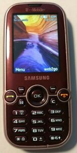 READ 1ST Samsung SGH T469 Pink Cell Phone T-Mobile Fast Ship Excellent Used