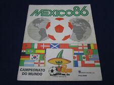 Panini Album WM 1986 Mexico 86, komplett/complete, recht gut/ +/- good, Portugal
