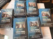 Star Trek ENHANCED PREMIERE PACK CCG ALL 6 SETS! FACTORY SEALED!