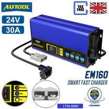 More details for fully-automatic smart charger 24v 30a fast charger baterry for forklift golf car