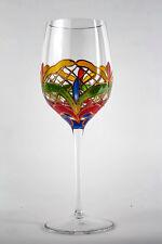 8-pc Orleans Wine Set: 4 Red Wine Glasses + 4 White Wine Glasses Romania Crystal