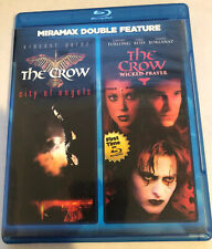 The Crow 2: City of Angels & Wicked Prayer - Blu-ray VERY RARE OOP LIKE NEW